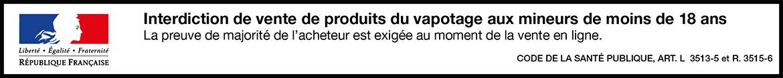 Bandeau Avertissement Mineur