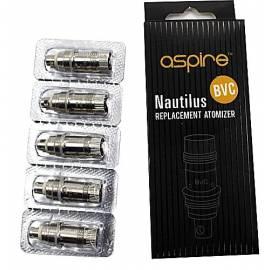 Resistance Aspire BVC Nautilus et Mini Nautilus